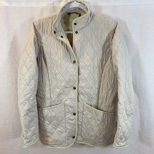 Barbour PolarQuilt Quilted Jacket Coat Lightweight